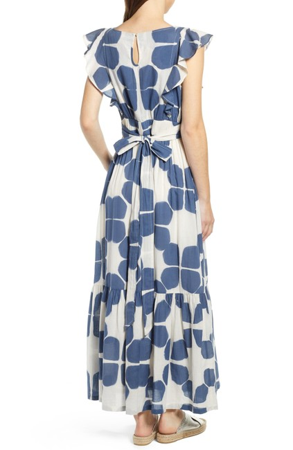Blue Maxi Dress by Anthropologie Image 8