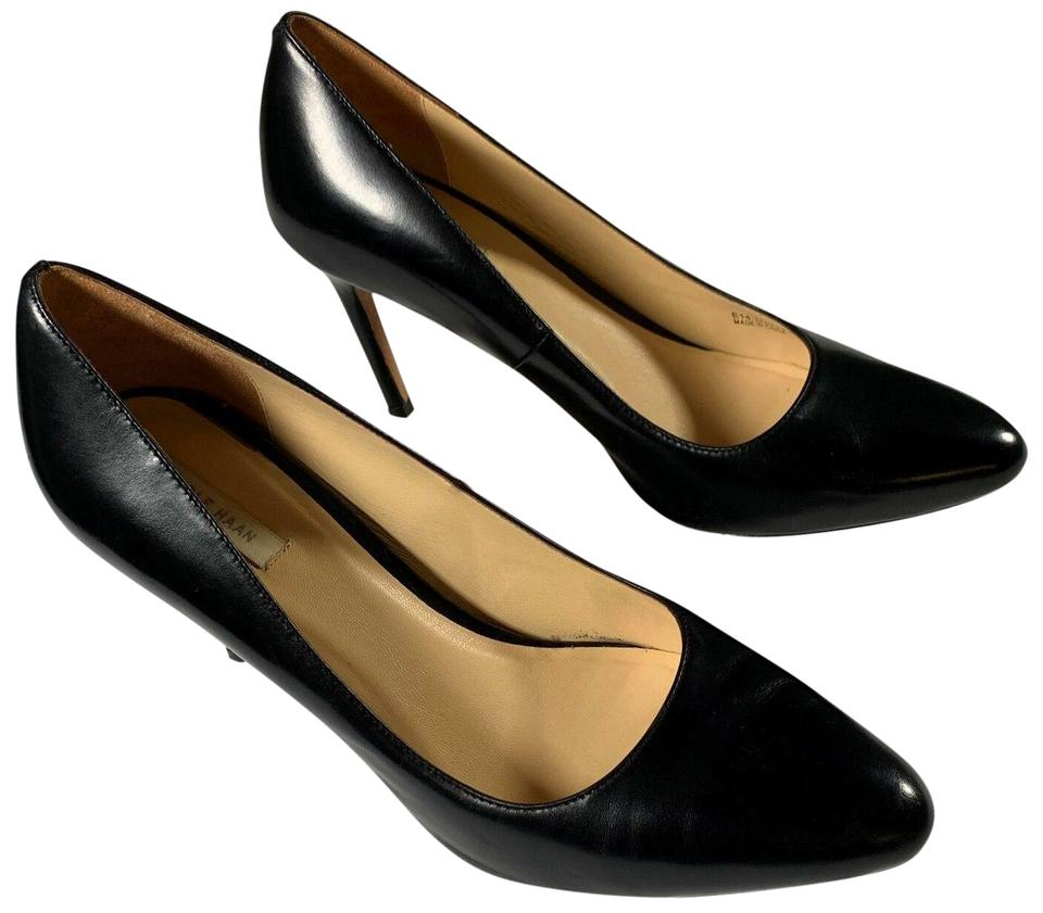 392deb7c813 Cole Haan Black Heels Grand Os Leather Classic Women Pumps Size US 9  Regular (M, B)
