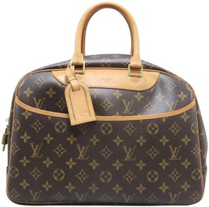 Louis Vuitton Lv Deauville Monogram Canvas Tote in Brown