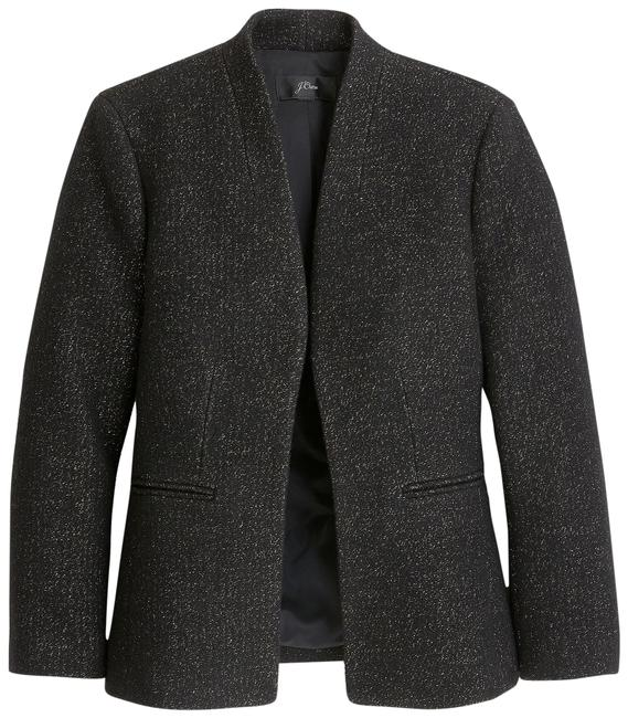 Item - Black Going Out Tinsel Tweed Womens Blazer Size 2 (XS)