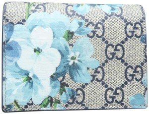 Gucci Multicolor Blooms Canvas Wallet