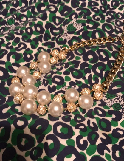 Lilly Pulitzer gold chain on the rocks Image 1