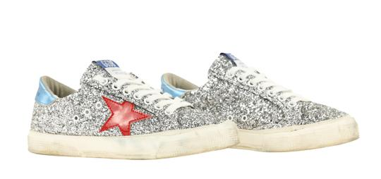 Golden Goose Deluxe Brand Silver Athletic Image 1