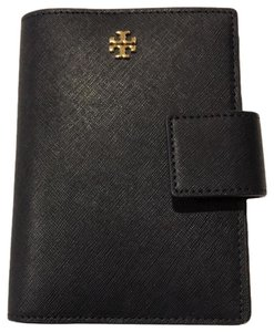 Tory Burch Tory navy Emerson leather passport holder