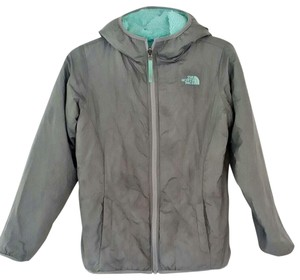 The North Face Turquoise and Gray Jacket