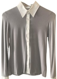 Anne Fontaine Top Light Grey