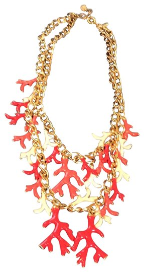 Preload https://img-static.tradesy.com/item/25395762/lilly-pulitzer-gold-coral-necklace-0-1-540-540.jpg