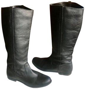 BDG Black Leather Boots