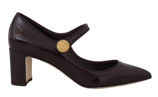 Preload https://img-static.tradesy.com/item/25396390/dolce-and-gabbana-bordeaux-leather-ankle-strap-pumps-size-eu-39-approx-us-9-regular-m-b-0-0-540-540.jpg