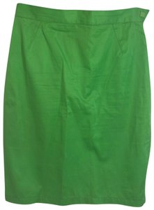 Thierry Mugler Mini Skirt Green