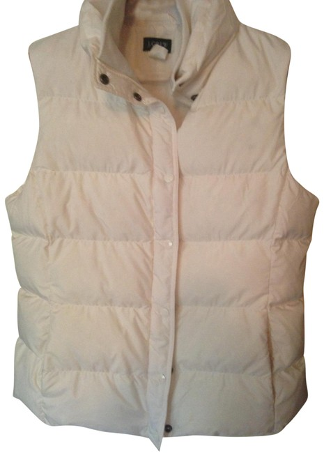 Item - Ivory Puffer Activewear Outerwear Size 12 (L)