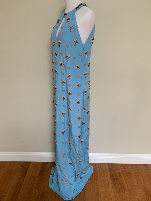 Emilio Pucci Beaded Crystal Silk Gown Dress Image 3
