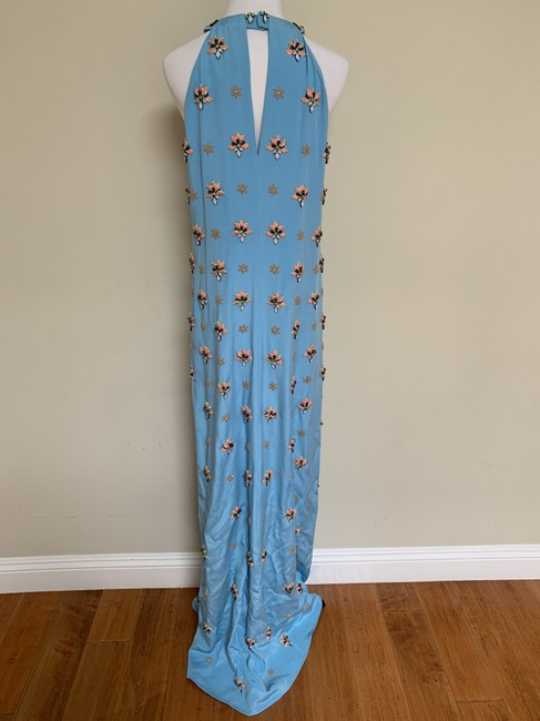 Emilio Pucci Beaded Crystal Silk Gown Dress Image 4
