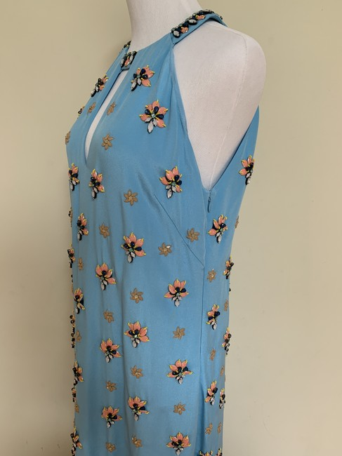 Emilio Pucci Beaded Crystal Silk Gown Dress Image 6