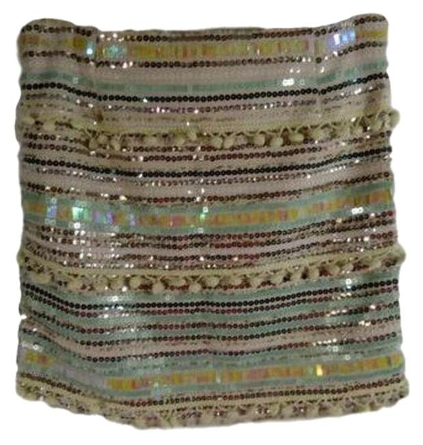 Item - Sequin (Sku 000026) Skirt Size 6 (S, 28)