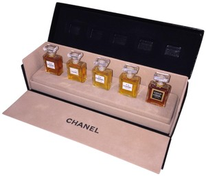 Chanel Chanel Wardrobe Parfum Collection 5pc Fragrance Set Perfume No22 No5 No19 Coco Allure