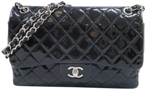 Chanel Jumbo Vernis Double Shoulder Bag