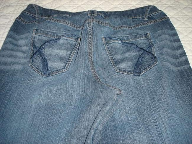Lane Bryant Straight Leg Jeans-Medium Wash