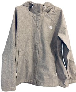 The North Face Waterproof Superdry Great Fabric Beautiful/Functional Heather Grey Jacket