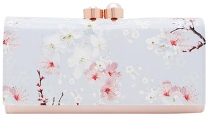 Ted Baker Blossom Print Leather Matinee Wallet