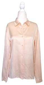 Genny Button Down Shirt peach