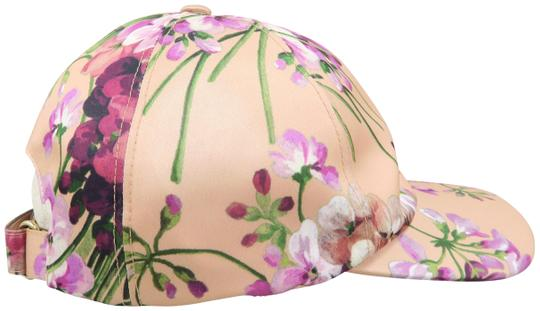 Preload https://img-static.tradesy.com/item/25398650/gucci-peach-and-multicolored-polyester-fiber-floral-print-size-57-and-m-hat-0-1-540-540.jpg