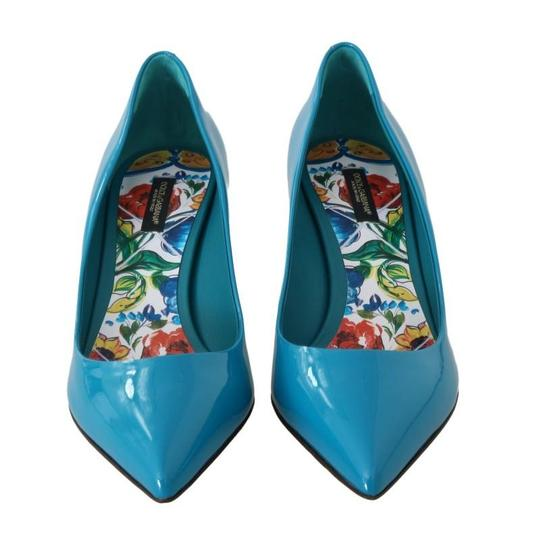 Dolce&Gabbana Blue Pumps Image 5