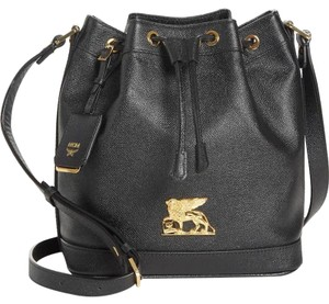 MCM Tote Shopper Pouch Crossbody Hobo Bag