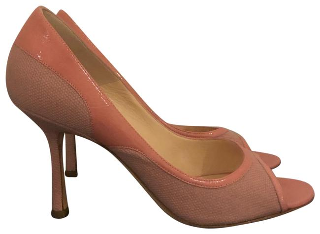 Jimmy Choo Pink Neverfull Pumps Size EU 38.5 (Approx. US 8.5) Regular (M, B) Jimmy Choo Pink Neverfull Pumps Size EU 38.5 (Approx. US 8.5) Regular (M, B) Image 1