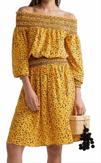 Item - Yellow Mid-length Night Out Dress Size 4 (S)