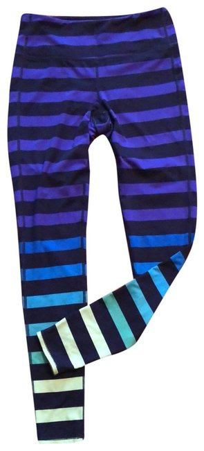 Item - Multicolor Striped Activewear Bottoms Size 6 (S)