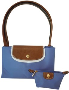 Longchamp Tote in Purple