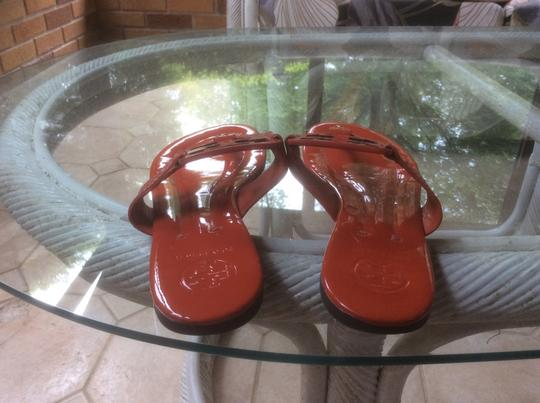 Tory Burch ***Reduced 7/15*** Orange Sandals Image 3