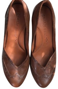 Gentle Souls Tan Mules