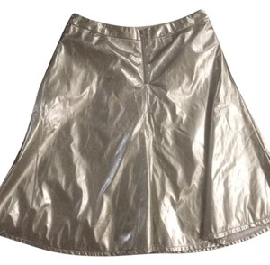 Double Zero Skirt Gold