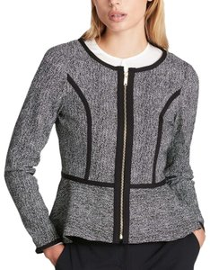 DKNY Black & White Blazer