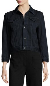Helmut Lang Vince Theory Tory Burch Rag Bone Current/Elliott Navy Womens Jean Jacket