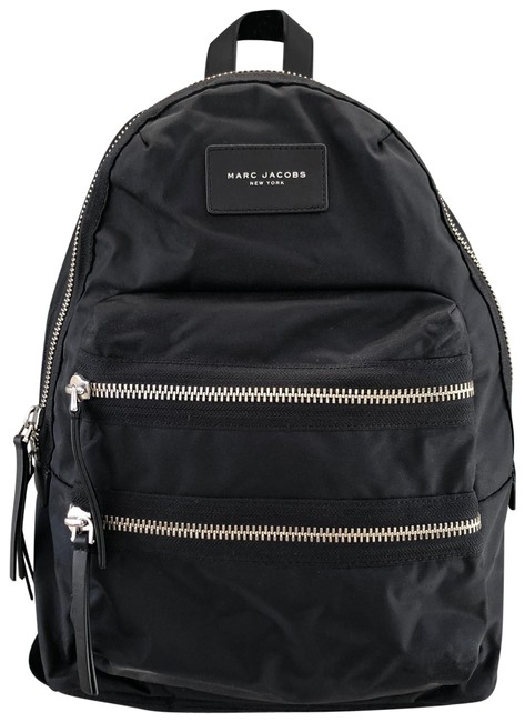Item - Biker Black Nylon Backpack