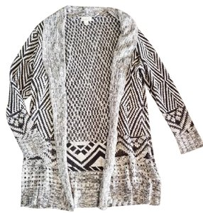 One World Boho Relaxed Knit Drape Cardigan