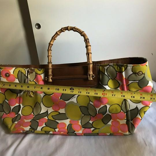 MILLY Tote in Multi Image 2