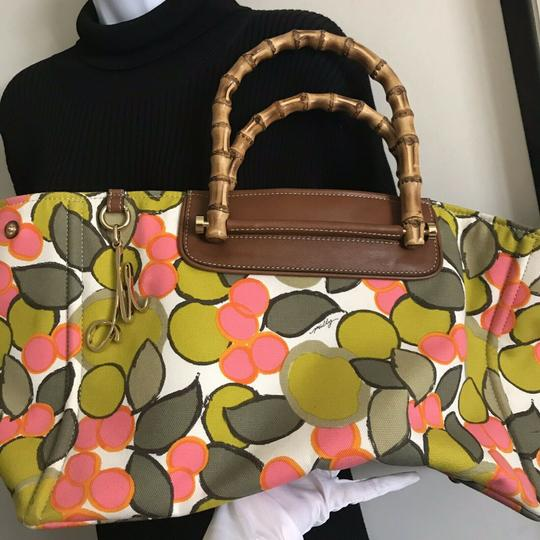 MILLY Tote in Multi Image 3