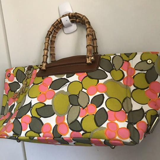 MILLY Tote in Multi Image 7
