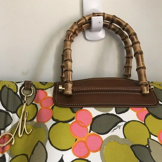 MILLY Tote in Multi Image 8