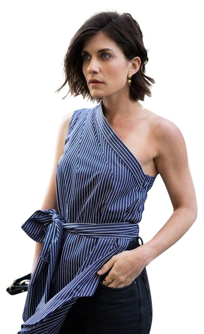 Stella McCartney Victoria Beckham The Row Isabel Marant Burberry Top Blue Image 0