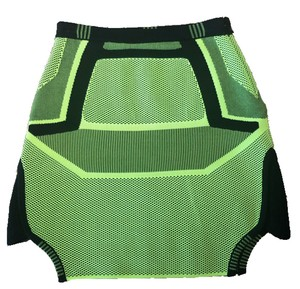 Alexander Wang Mini Skirt Black and Green