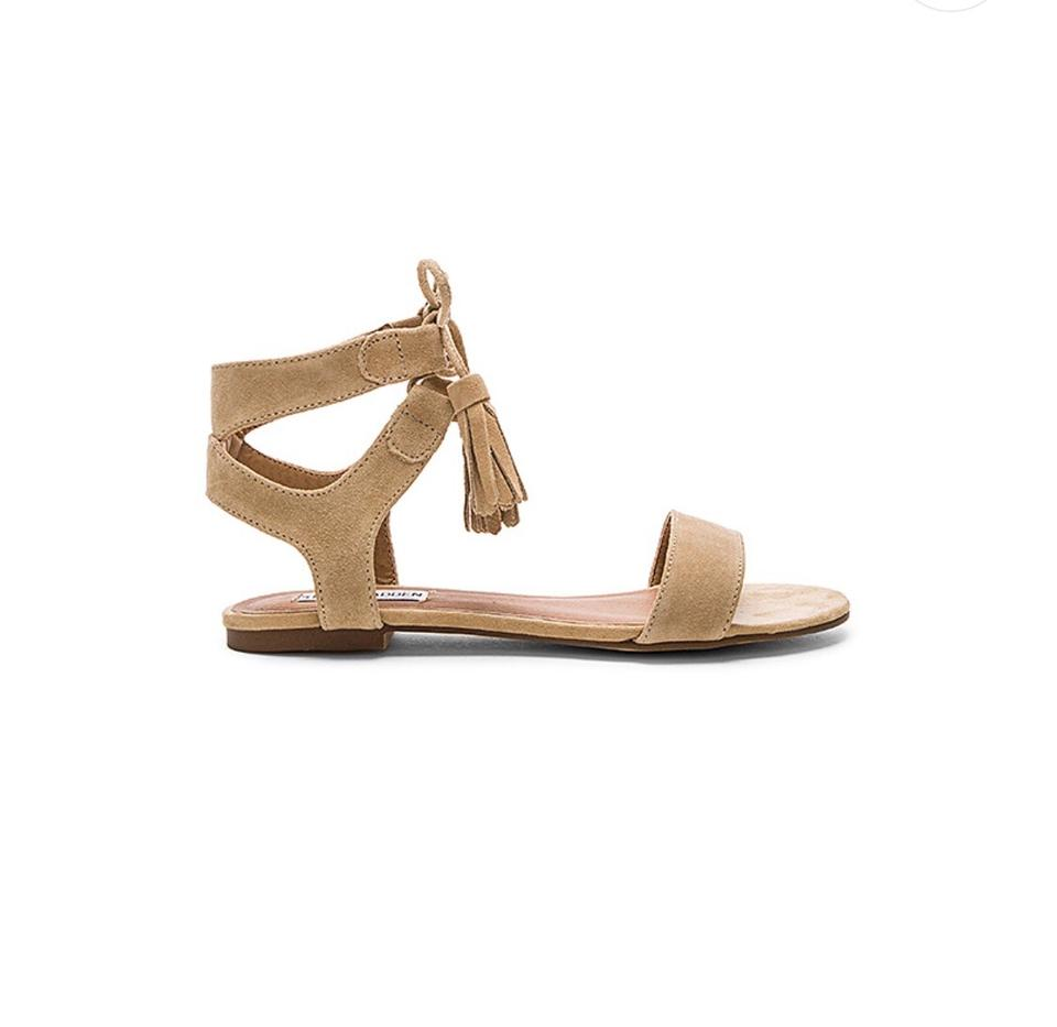 release info on quality design pre order Steve Madden Sand Suede Daryyn Lace Up Sandals Size US 8 Regular ...