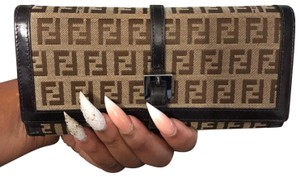 Fendi brown Clutch