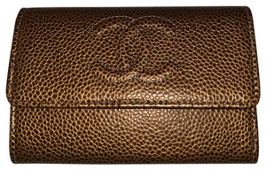 Chanel Wristlet in Golden Brown