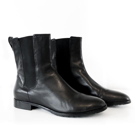 Cole Haan Water-resistant Comfortable Leather Black Boots Image 1
