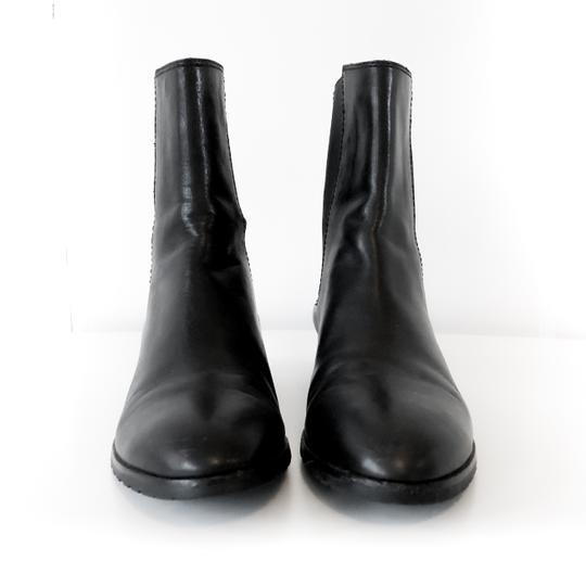 Cole Haan Water-resistant Comfortable Leather Black Boots Image 2